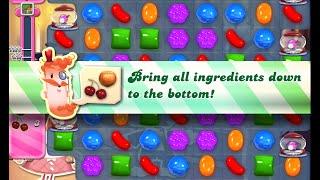 Candy Crush Saga Level 521 walkthrough (no boosters)