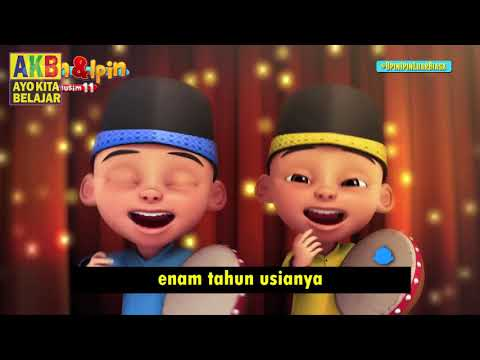 Lagu Abdullah Nama Ayahnya Versi Upin Ipin, Lagu Anak Muslim Indonesia
