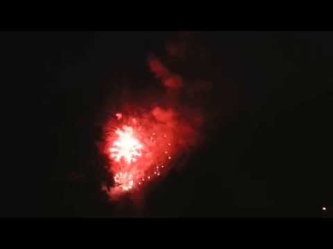 2015 Westerville Ohio family fireworks display