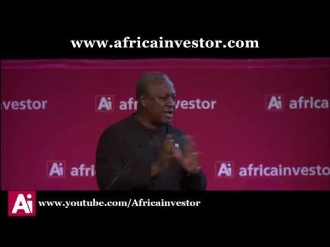H.E. John Mahama, President of Ghana, at the Ai Heads of State Lunch 2014