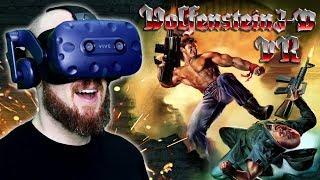 Wolfenstein 3D VR HTC Vive Pro Gameplay