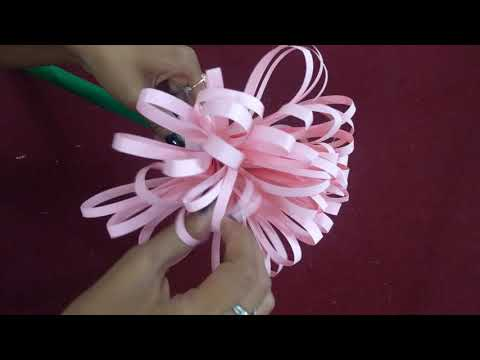 Easy way To Make Yarn Feathers & Diy Paper Flowers - DIY - Handmade