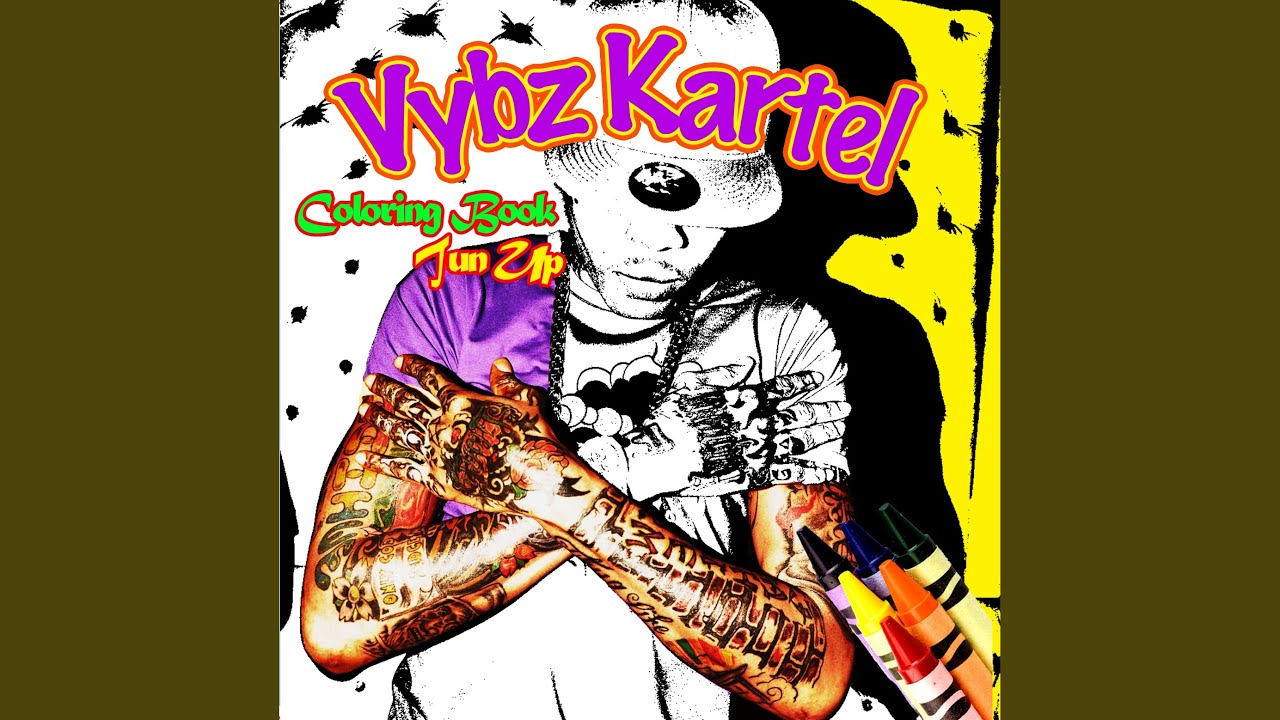 Vybz Kartel Colouring Book Colourskids Info Dancehall Hero Remix Explicit
