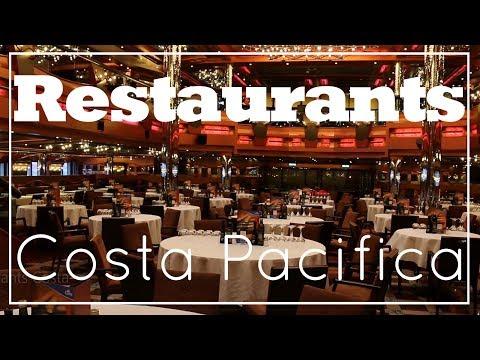 Essen an Bord der Costa Pacifica - Costa