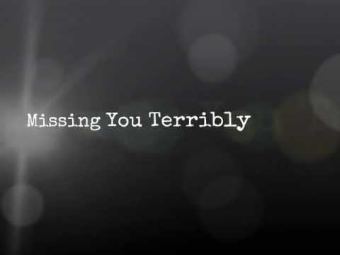 Missing You Terribly (Poem)