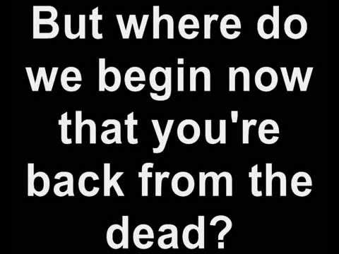 Skylar Grey - Back From The Dead Ft. Big Sean, Travis Barker (Lyrics)