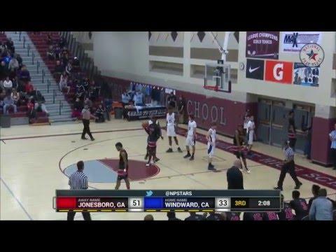 Jonesboro(GA) vs Windward (CA) - MJ Walker vs Shareef O'Neal