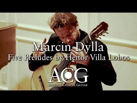 Marcin Dylla - Five Preludes by Heitor Villa Lobos [ACG Benefit Concert]