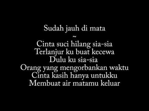 NDX AKA ft PJR - Tak Akoni Aku Sing Salah [Lirik Indonesia]