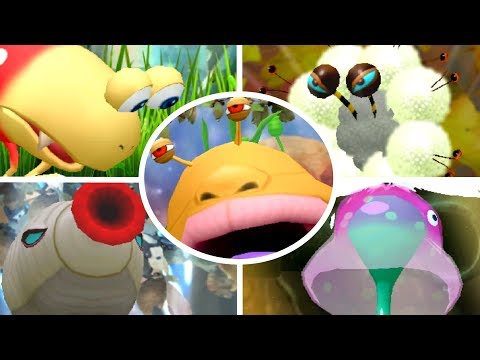 Hey! Pikmin - All Bosses (No Damage)