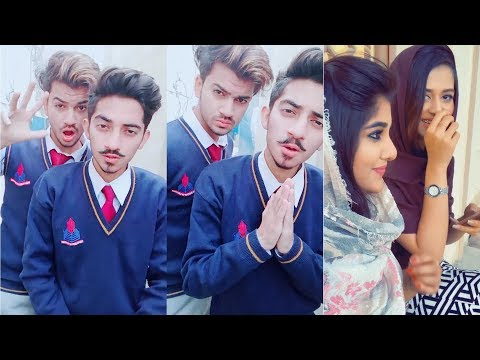 Inside Punjab College Girls Boys TikTok Musically Video| Part 10 | Lahore Punjab Group College