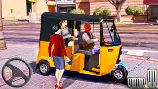 Chingchi Rickshaw Fast Driving - Tuk Tuk Auto Driver City Mountain - Android GamePlay screenshot 4
