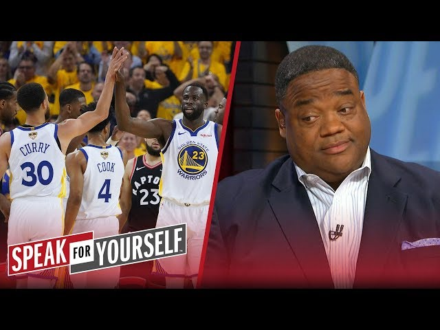 Warriors are still winning the title despite Raptors GM 3 win - Whitlock | NBA | SPEAK FOR YOURSELF