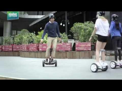 Chạy thử xe điện 2 bánh Ninebot mini Pro