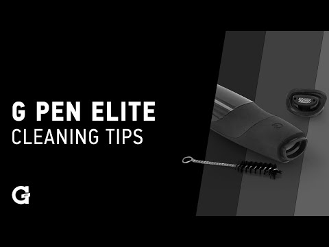 G Pen Elite | Cleaning Elite and Mouthpiece