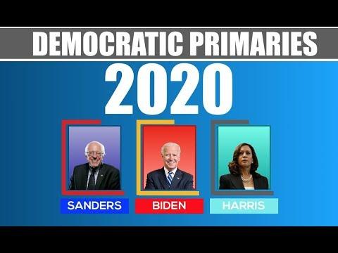Democratic Primaries 2020 | Election Night | Biden vs Sanders vs Harris
