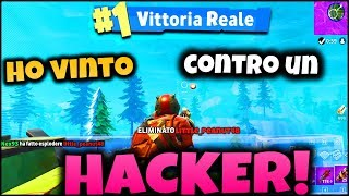FORTNITE ITA : I HAVE WIN WITH A HACKER! EXPLOSIVE REAL VICTORY - BATTLE PASS