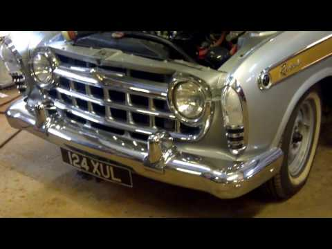 1957 Rambler Rebel - Engine Sound