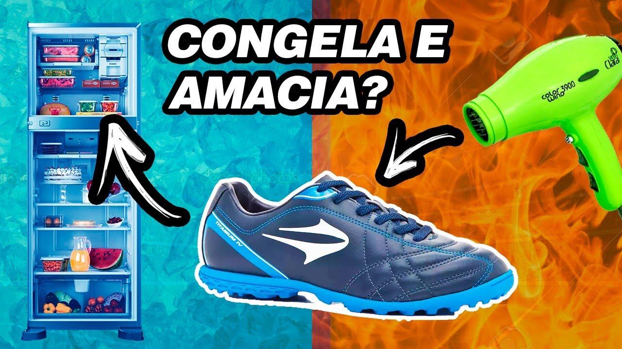 COMO AMACIAR CHUTEIRA NOVA - COMO FAZER  04 - YouTube f01d7533f8b97