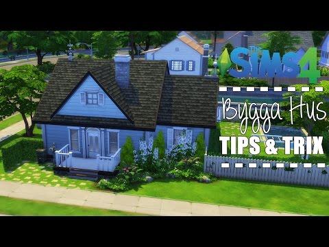 Hur man bygger ett hus i Sims 4 || Tips och Trix