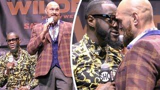 * BERSERK! *  Deontay Wilder vs Tyson Fury FULL PRESS CONFERENCE | Los Angeles