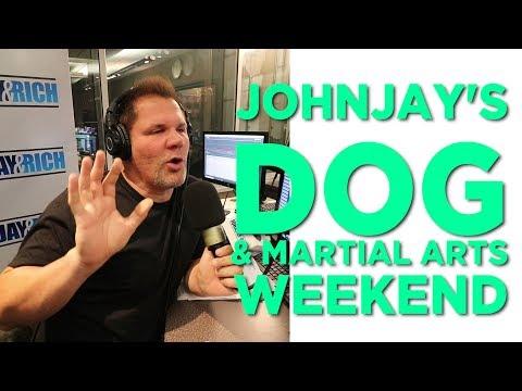 In-Studio Videos - Johnjay's Dog & Martial Arts Weekend!