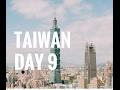 TAIWAN // Day 9 Taipei // Elephant Mountain, Taipei Zoo, Maokong, TAIPEI 101 FIREWORKS