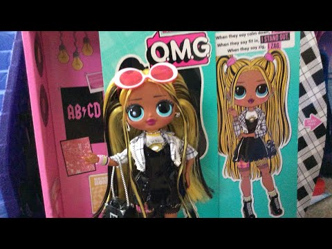 LOL SURPRISE OMG WAVE 2 ALT GRRRL DOLL REVIEW