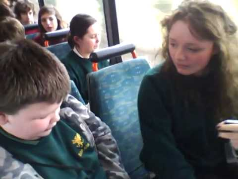 jordan attacks two girls on the bus