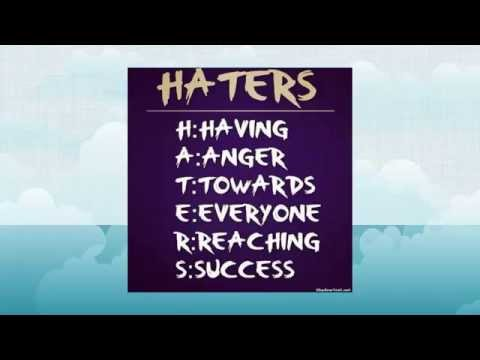 Haters - Top 12 Inspirational Quotes