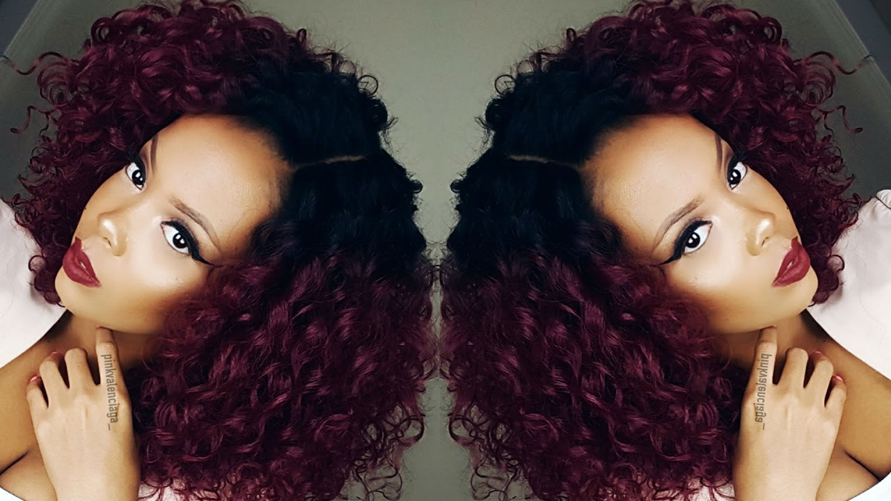 My Fave Curly Wig Outre Synthetic Swiss X Lace Front Valentina