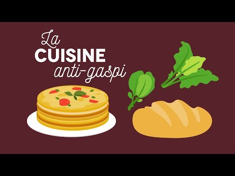 La cuisine anti-gaspi - Les Carnets de Julie