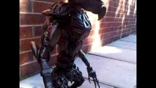 Gremlin 60cm Figure Metal Art Productions Scrap Parts Sculpture