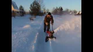 снегоуборщик электрический PROFI 200046.AVI смотреть