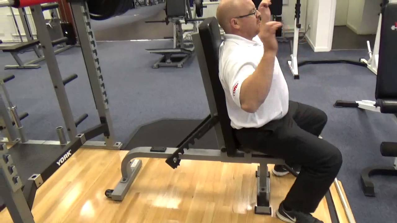 York Sts Flat To Incline Bench Youtube