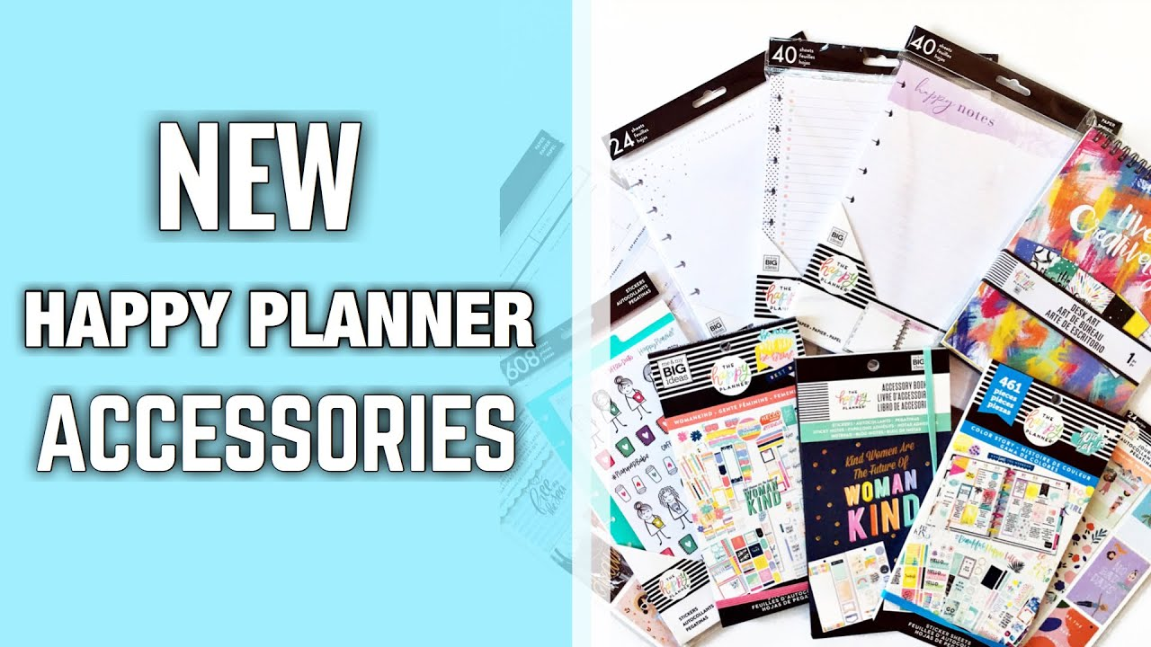 New Happy Planner Accessories Haul