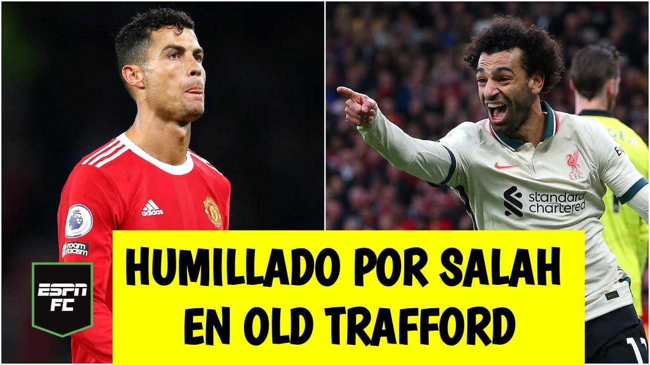PREMIER LEAGUE Liverpool DESNUDÓ a Cristiano Ronaldo y al Manchester United en el clásico | ESPN FC