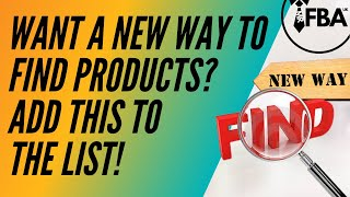 Want A New Way To Find Products? Add This To The List!