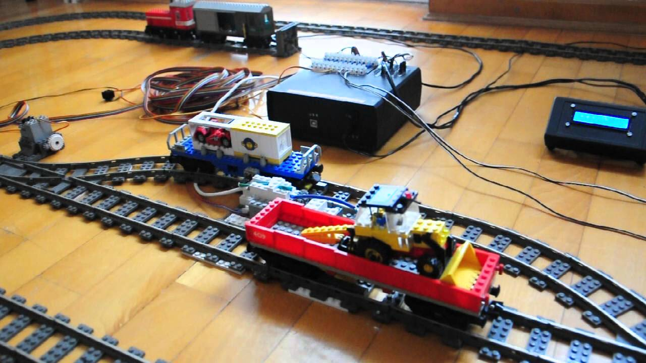 Arduino for lego trains the automated marshall yard