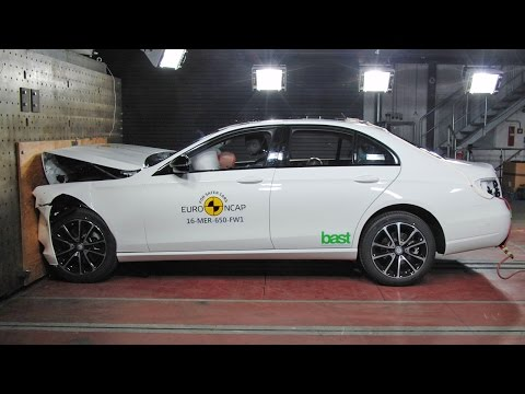 2017 Mercedes E-Class CRASH TESTS