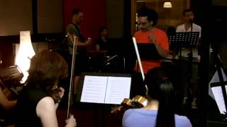 Monster Rock Orchestra Behind the Scenes rehearsal - Help! take1.mov