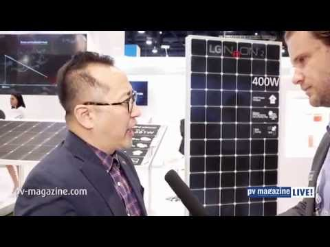 High-powered solar: Interview with Joseph Park, LG Electronics