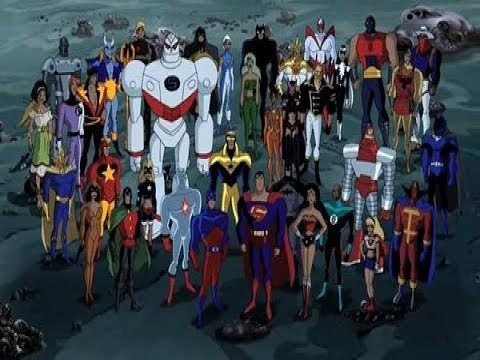 Justice League Unlimited-Infinity War Trailer