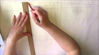 видео Строим выкройку прямой юбки по методу Любакс