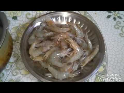 How to clean prawns properly in Tamil / Prawns clean in Tamil