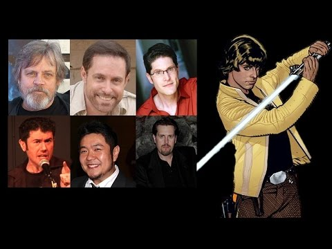Comparing The Voices - Luke Skywalker