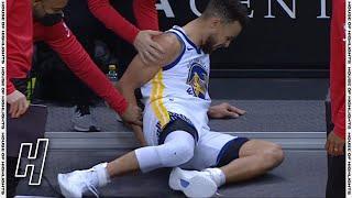 Stephen Curry Gets Injured - Warriors vs Rockets | March 17, 2021 | 2020-21 NBA Season