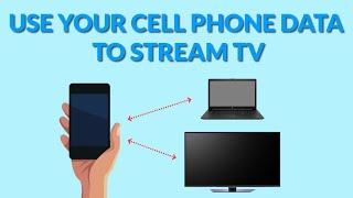 Use Your Cell Phone Data to Stream TV