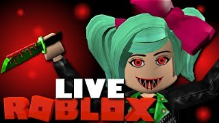 Roblox LIVE | Murder Friday! Day 19 of 31 Days of Streaming!