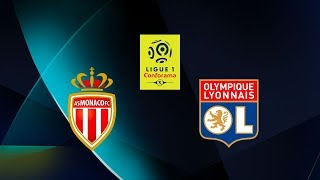 Monaco - Lyon sur PES 2019 via l'Intelligence Artificielle